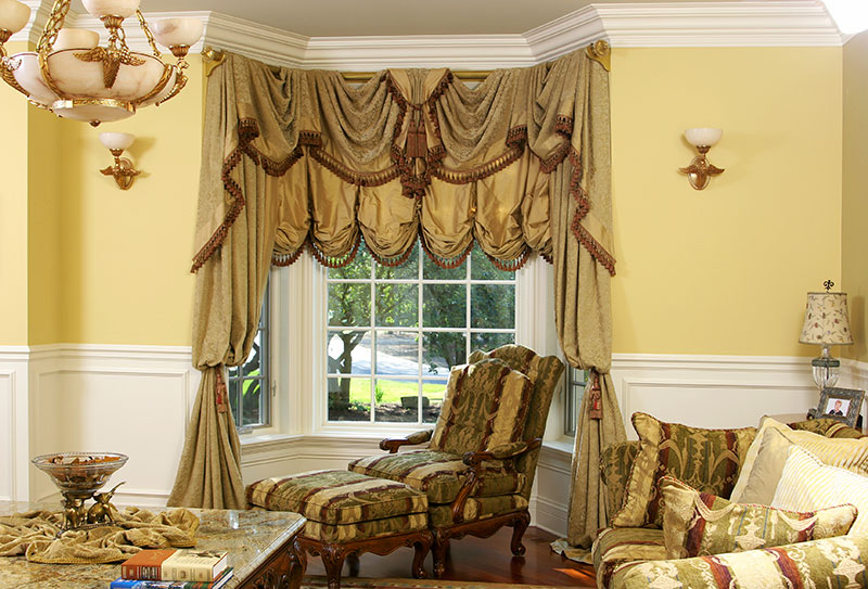 Luxury Custom Drapery And Curtains Fabrics Chicago