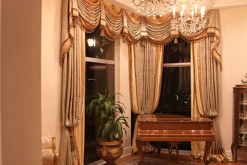 Chicago Penthouse Window Treatments
